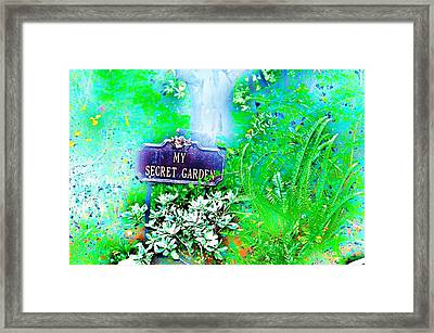 Hidden Fantasy Framed Print