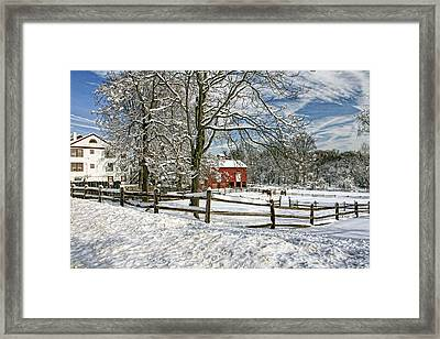 Hidden Farm Framed Print