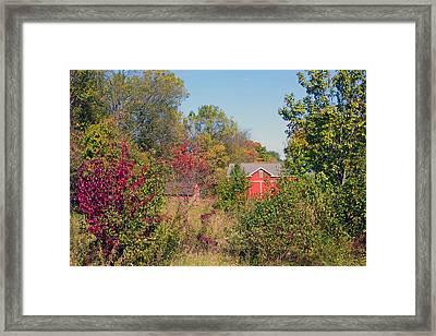 Hidden Farm Framed Print