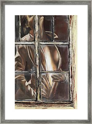 Hidden Feelings Framed Print by Beatrix S Zygartowski
