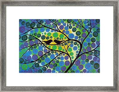 Hidden Heart Framed Print by Cathy Jacobs