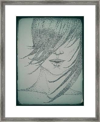 Hidden Framed Print by Heather James