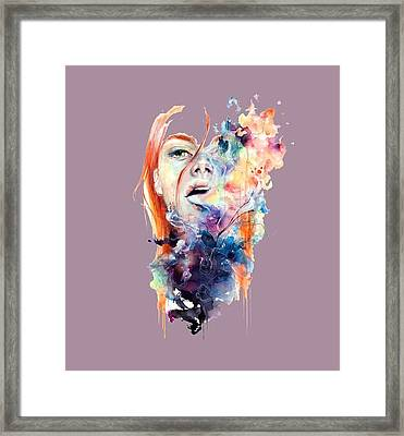 Hidden T-shirt Framed Print