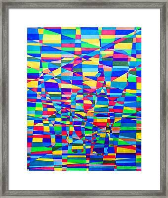 Hidden Image Framed Print