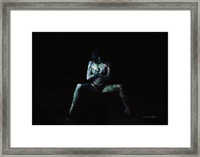 Hidden In Shadows Framed Print
