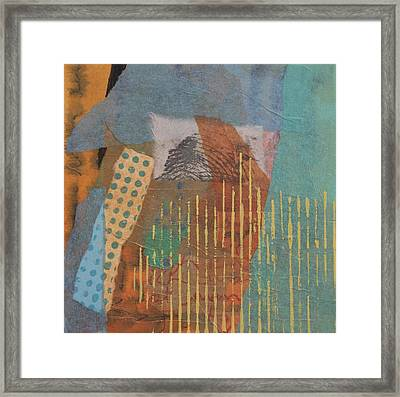 Hidden In The Hay Framed Print by Catherine Hollander
