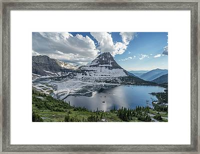 Hidden Lake Framed Print