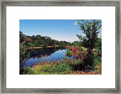 Framed Print featuring the photograph Hidden Lake by Gary Wonning
