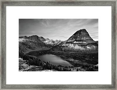 Hidden Lake Framed Print by Jesse Estes