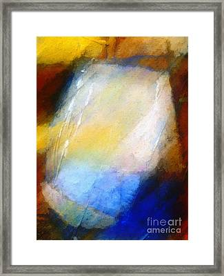 Hidden Light Framed Print by Lutz Baar