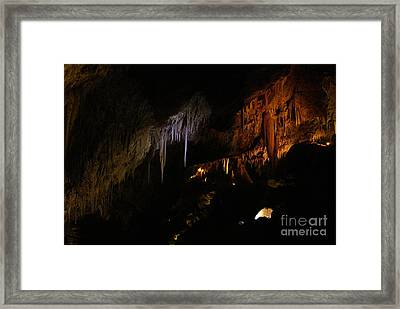 Hidden Light Framed Print by Oscar Moreno