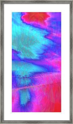 Hidden Mandala Framed Print by Rose  Hill