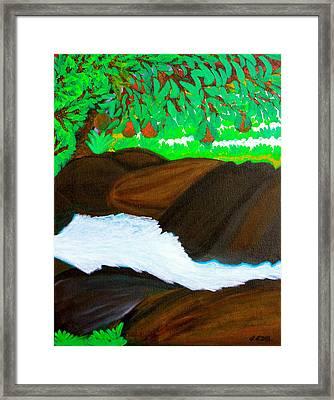 Hidden Paradise Framed Print