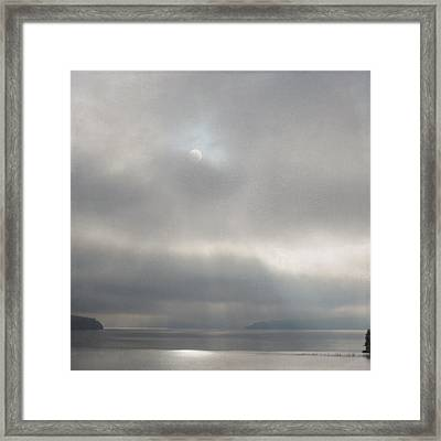 Framed Print featuring the photograph Hidden Rays by Sally Banfill