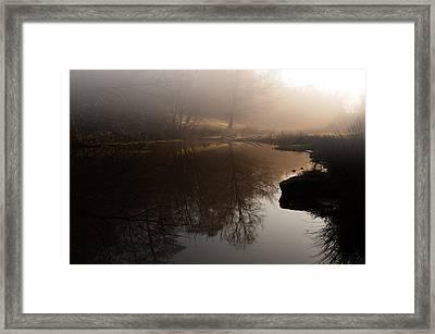 Hidden Reflections Framed Print