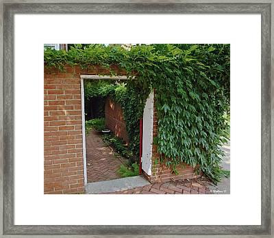Hidden Sanctuary Framed Print by Brian Wallace