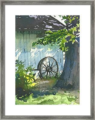 Hidden Shadows Framed Print by Spencer Meagher