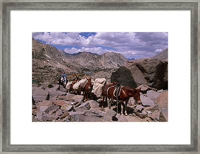 Hidden Source - Rainbow Pack Outfitters Framed Print by Soli Deo Gloria Wilderness And Wildlife Photography