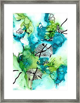 Hidden Treasure Framed Print