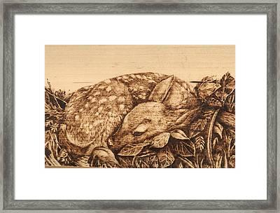 Hidden Treasure Framed Print by Laura Lobner