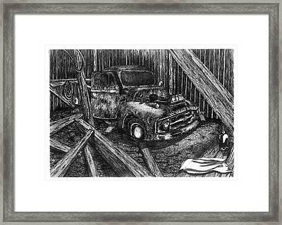 Hidden Treasures Framed Print by Jonathan Baldock