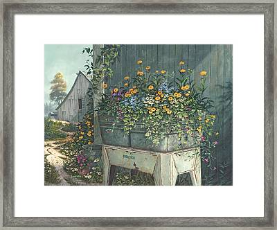 Hidden Treasures Framed Print by Michael Humphries