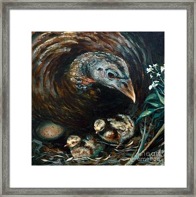 Hidden Treasures Framed Print by Suzanne McKee