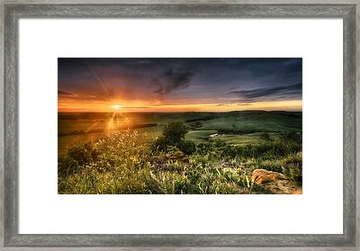 Hidden Valley Framed Print by Garett Gabriel