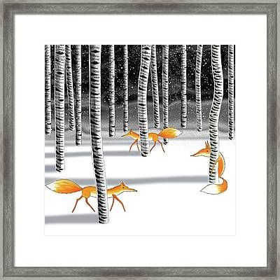 Hide And Seek  Framed Print by Andrew Hitchen