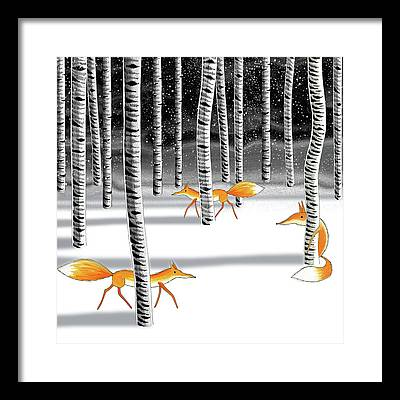 Wintertime Framed Prints