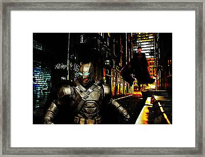 Hide And Seek Framed Print by The DigArtisT