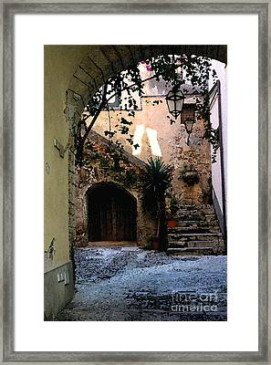 Hide Away Framed Print by Dennis Curry