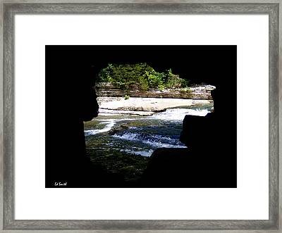 Hide Away Framed Print by Ed Smith