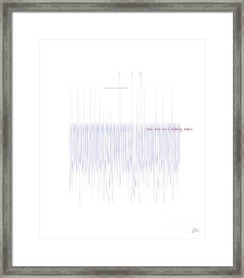 Hiding Place Framed Print