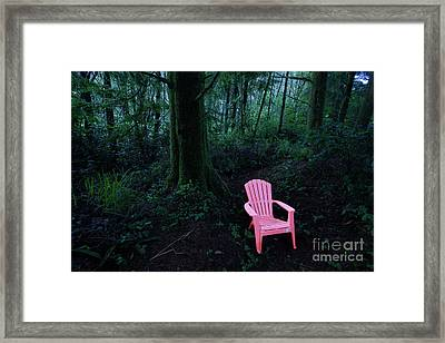 Hiding Place Framed Print by Masako Metz