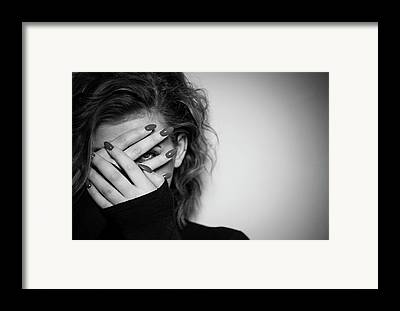 Eyes Framed Prints