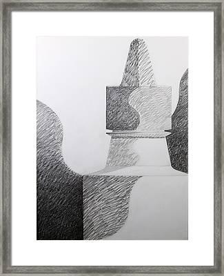 Higgins Monolith Framed Print
