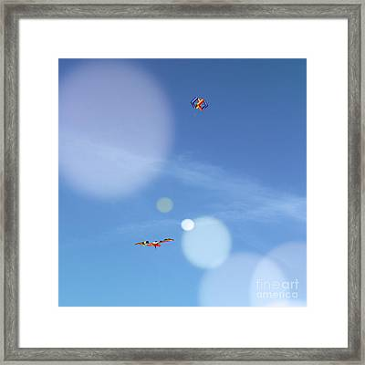 High Above Me Framed Print by Colleen Kammerer
