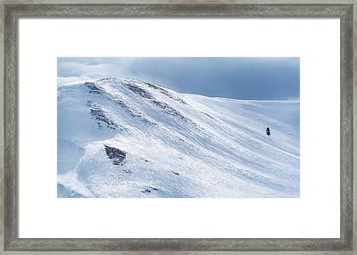 High Altitude Framed Print