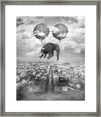 High Ambition Framed Print
