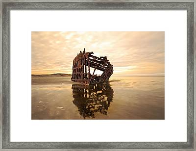 High And Dry, The Peter Iredale Framed Print