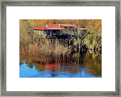 High And Dry Framed Print by Laura Ragland