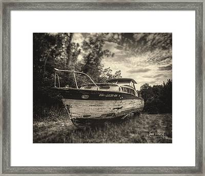 High And Dry On Rainbow Ridge Framed Print