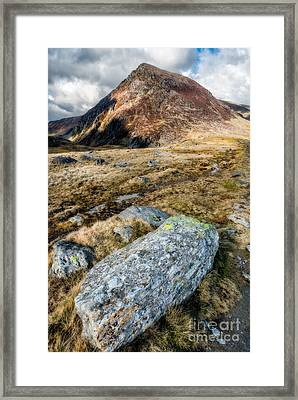 High And Mighty Framed Print by Adrian Evans