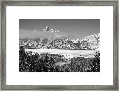 High Band Framed Print