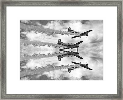 High Framed Print by Betsy Knapp