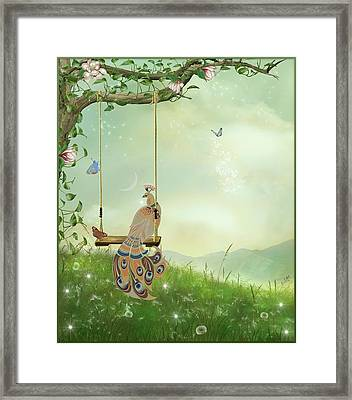 High-carat Framed Print