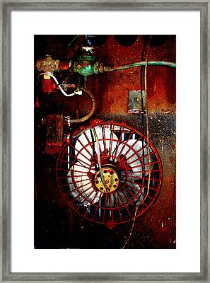 High Contrast Fan Framed Print by Dana  Oliver