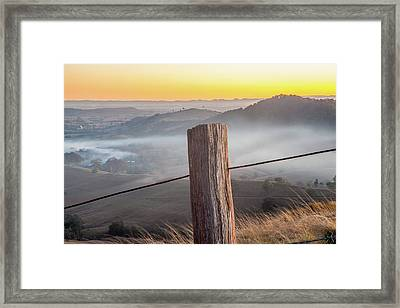 High Country Framed Print by Az Jackson