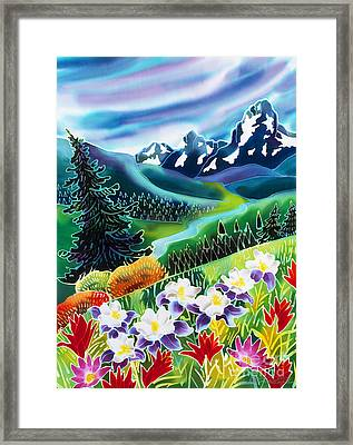 High Country Framed Print by Harriet Peck Taylor